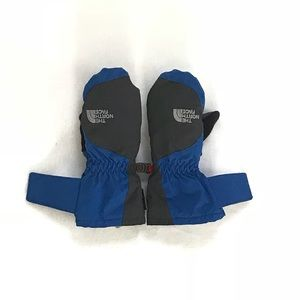 North Face 3T Hyvent Blue/Black Winter Gloves